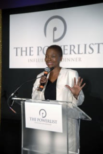 Valerie Amos - Former UN Under Secretary-General For Humanitarian Affairs & Emergency Relief Coordinator and current Director of SOAS, University of London - Acceptance speech for a Life Time Achievement award at the 2015 Powerlist Influencers Dinner at the V&A, London